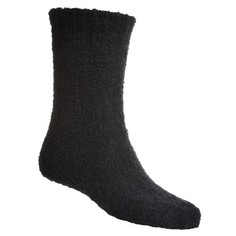 b.ella Boucle Boot Socks - Merino Wool, Crew (For Men)