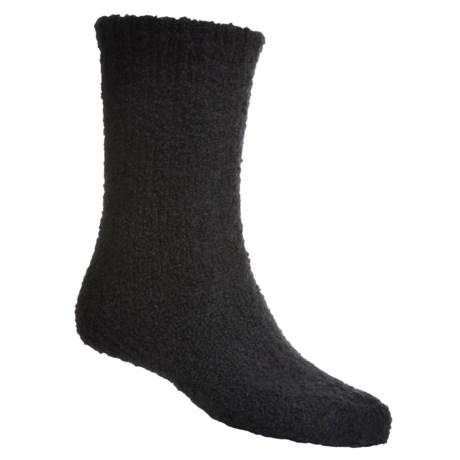 b.ella Boucle Boot Socks - Merino Wool, Crew (For Men)