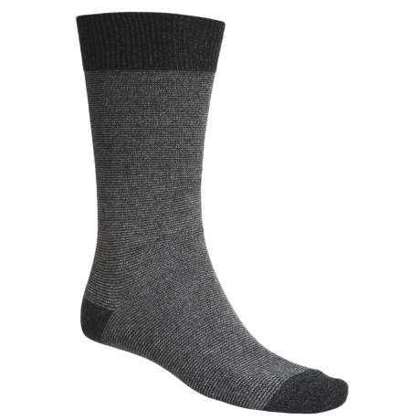 b.ella 2-Color Stripe Dress Socks - Cotton Blend, Crew (For Men)