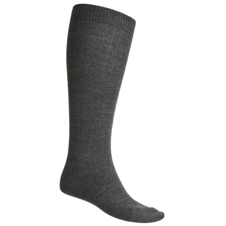 b.ella Ribbed Dress Socks - Stretch Wool (For Men)