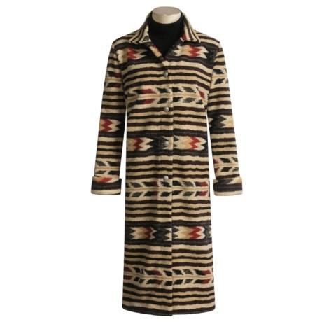 County Clothing Blanket Stripe Duster (For Women)