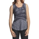 Casual Studio Lace Tank Top - Scoop Neck (For Women)