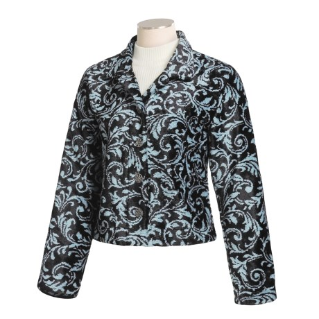 County Clothing Chantilly Crop Jacket (For Women)