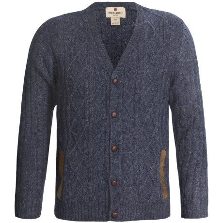 Woolrich Ryland Cardigan Sweater - Wool (For Men)