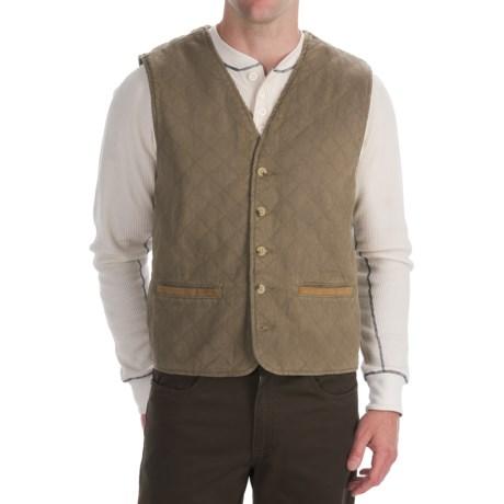 Woolrich Eagle Fork Vest - Flannel Lining (For Men)