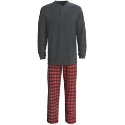 Woolrich EZ Thread Pajamas - Cotton, Long Sleeve (For Men)