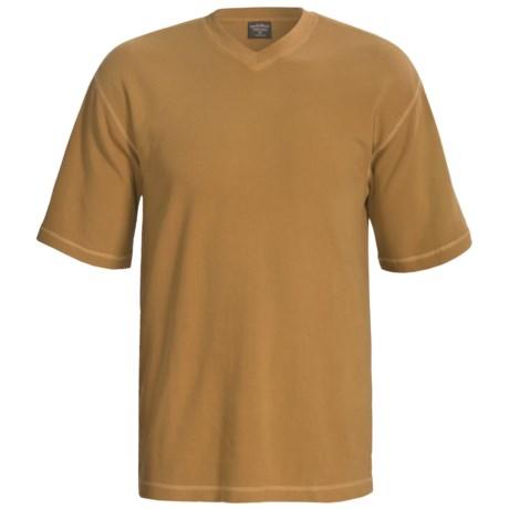 Woolrich Kettle Creek  Shirt - V-Neck, Short Sleeve (For Men)