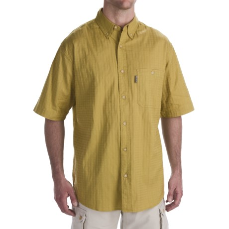 Woolrich Inlet Shirt - Short Sleeve (For Men)