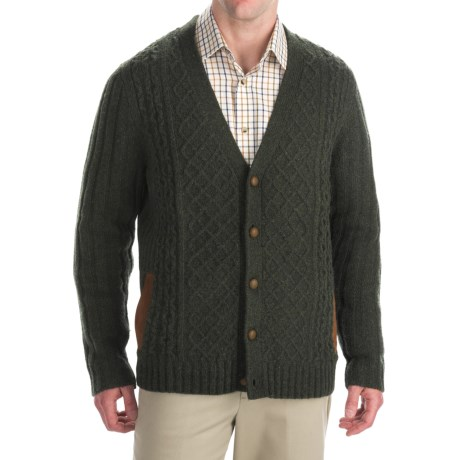 Woolrich Lexington Cardigan Sweater - Lambswool Blend (For Men)