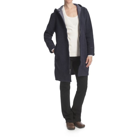 Woolrich Milano Duffle Coat - Wool (For Women)