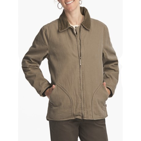 Woolrich Rugged Jacket - Cotton Canvas, Fleece-Lined (For Women)