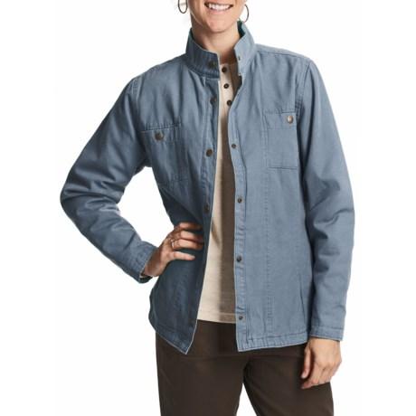 Woolrich Elm Creek Shirt Jacket - Cotton Canvas, Insulated (For Women)