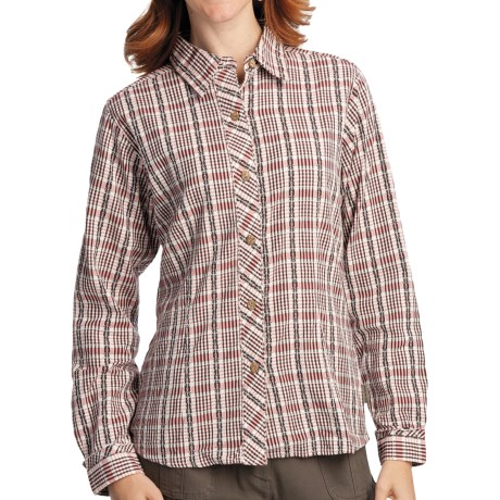 Woolrich Lovina Shirt - Cotton Dobby, Long Sleeve (For Women)