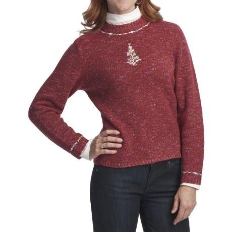 Woolrich Tree Sweater - Jersey Knit (For Women)