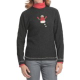 Woolrich Snowman Sweater (For Women)