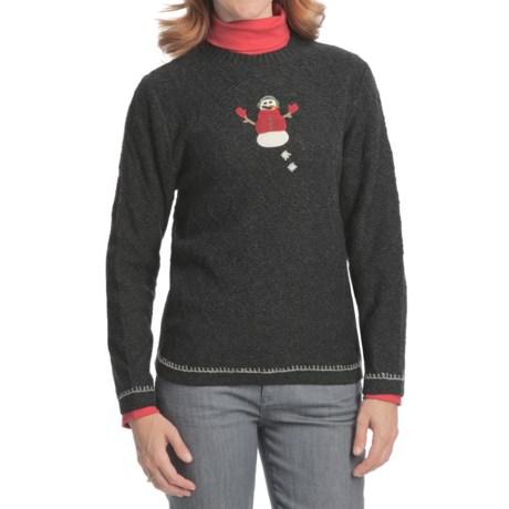 Woolrich Snowman Sweater (For Women)