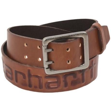 Carhartt Logo Belt - Leather (For Men)