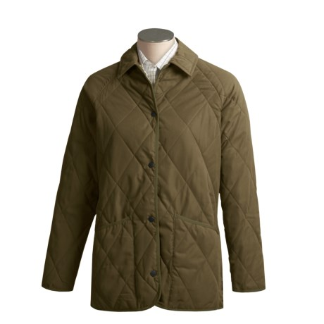 Barbour Teesdale Jacket - Quilted Microfiber (For Women)