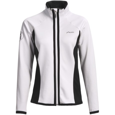 Phenix Lattice Middle Jacket (For Women)