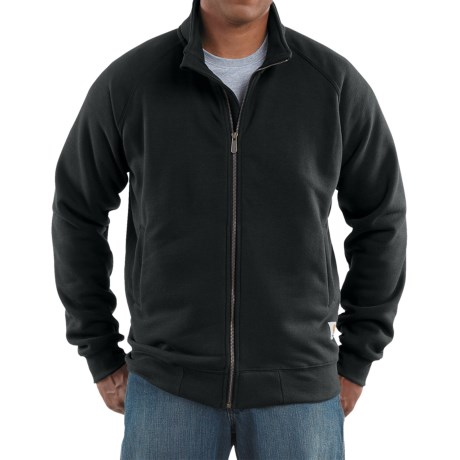 Carhartt Midweight Mock Neck Sweatshirt - Full Zip, Long Raglan Sleeves (For Men)