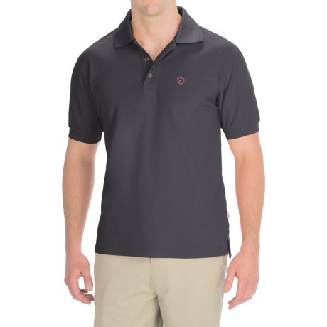Fjallraven Crowley Pique Polo Shirt - Short Sleeve (For Men)