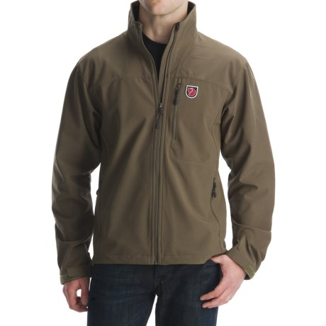 Fjallraven Siebe Storm Blocker Jacket - Soft Shell (For Men)