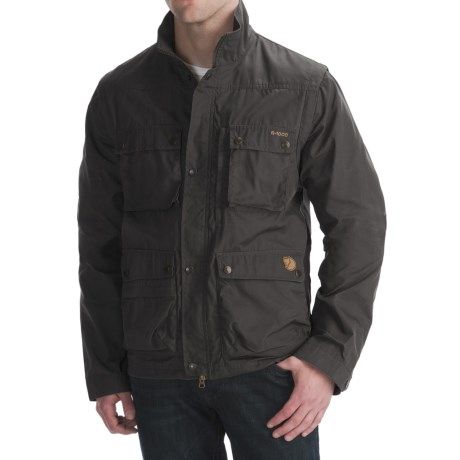 Fjallraven Reporter Lite Travel Jacket - UPF 50+, Zip-Off Sleeves (For Men)