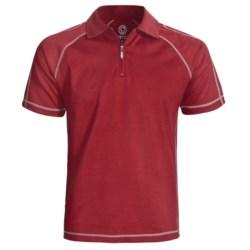 Gramicci Cloverdale High-Performance Polo Shirt - UPF 50, Zip Neck, Short Sleeve (For Men)