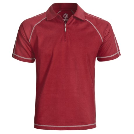 Gramicci Cloverdale High-Performance Polo Shirt - UPF 50, Zip Neck, Short Sleeve (For Men)