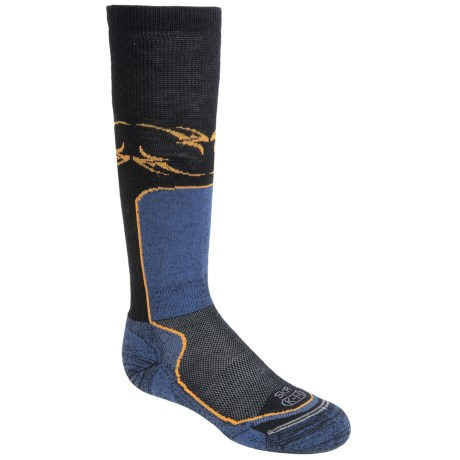 Lorpen Junior Ski Race Socks - 2-Pack, Merino Wool, Over-the-Calf (For Kids and Youth)