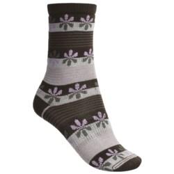 Lorpen Comfort Life Virginia Socks - Modal-Cotton, Crew (For Women)