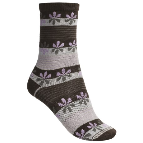 Lorpen Comfort Life Virginia Socks - Modal-Cotton, Crew (For Women)