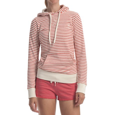 Element Dover Stripe Pullover Hoodie Sweatshirt - Terry Fleece (For Women)