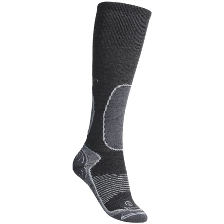 Lorpen S.S.M.W. Ski Socks - Merino Wool, Silk Lining (For Women)