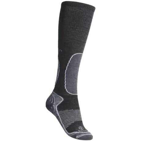 Lorpen S.S.M.W. Ski Socks - Merino Wool, Silk Lining (For Women)