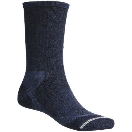 Lorpen Trekking Socks - Antibacterial, Lightweight, Crew (For Men and Women)