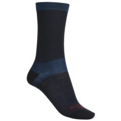 Bridgedale CoolMax® Liner Crew Socks - 2-Pack, Lightweight (For Women)