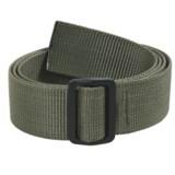 Bison Designs Slider Web Belt - 38mm (For Men and Women)