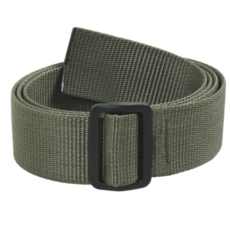 Bison Designs Slider Web Belt - 38mm (For Men and Women)