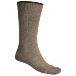 Byford® Donegal Rib Mid-Calf Socks - Merino Wool-Silk (For Men)