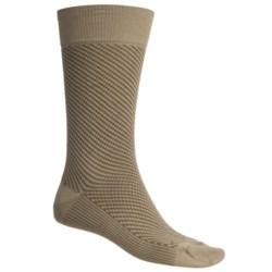 Byford® Diagonal Fancy Socks - Pima Cotton Blend, Mid-Calf (For Men)