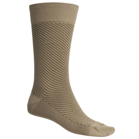 Byford® Diagonal Fancy Socks - Pima Cotton Blend, Mid-Calf (For Men)