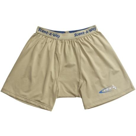 Hunter's Specialties Scent-A-Way Tek 4 Underwear - Boxer Briefs (For Men)