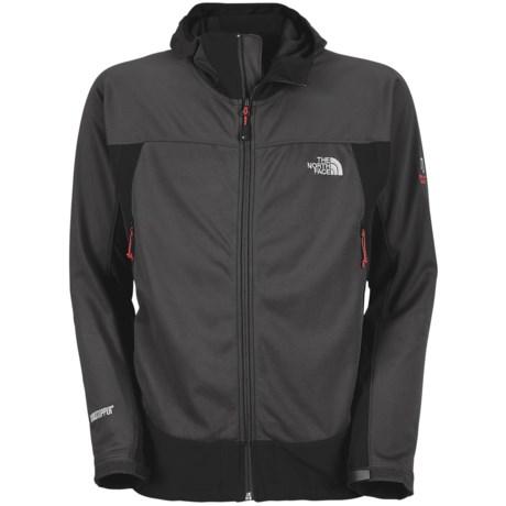 The North Face Cipher Hybrid Hooded Jacket - Windstopper®, Soft Shell (For Men)