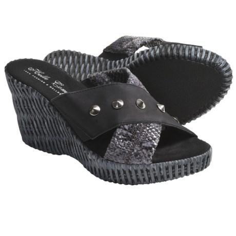 Helle Comfort Jam Wedge Sandals (For Women)