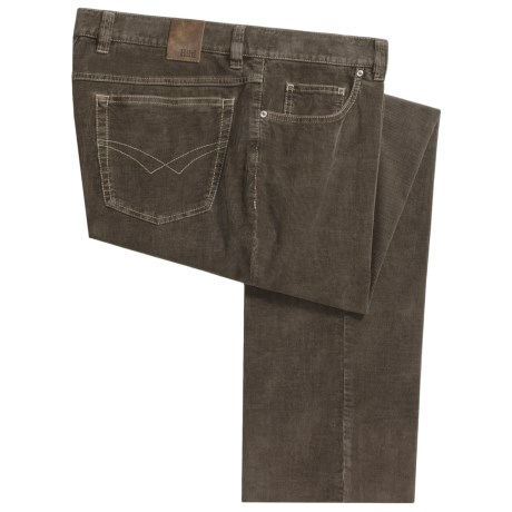 Hiltl John Inch Pants -  Corduroy, Unhemmed (For Men)