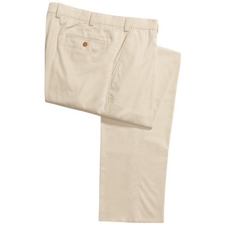 Hiltl Cotton Poplin Pants - Stretch (For Men)