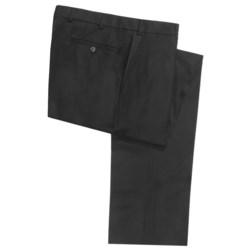 Hiltl Wool Dress Pants - Flat Front Pants (For Men)