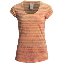 The North Face Tadasana Sun Rise Shirt - Scoop Neck, Short Sleeve (For Women)