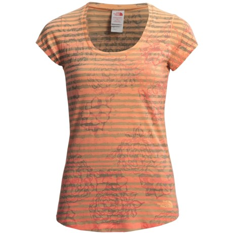 The North Face Tadasana Sun Rise Shirt - Scoop Neck, Short Sleeve (For Women)